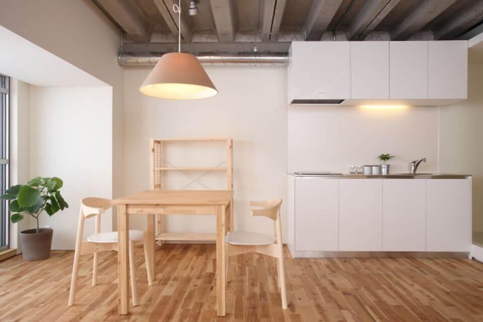 讓人想住的房子,用來體驗先享受自住屋的概念。