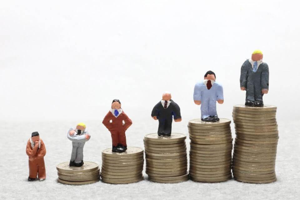 財富累積速度因人而異。